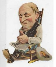 Novelty Piece - Old Man in Rocker with odd Smile