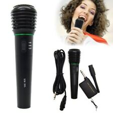 2in1 Pro Wireless Cordless Microphone System Wired Professional Karaoke Mic AU