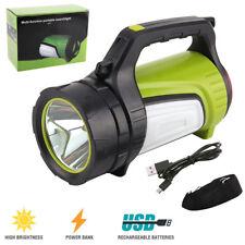 50W 34LED USB Taschenlampe Suchscheinwerfer Handlampe Marine Flashlight 30000lm