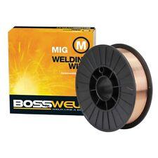 Bossweld 0.9mm 5.0kg Mild Steel S6 MIG Wire