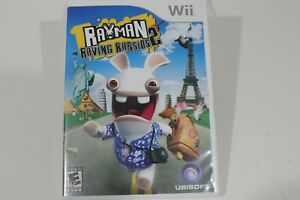 Rayman Raving Rabbids 2 Nintendo Wii Video Game Complete w/ Manual Case