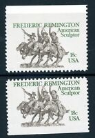 EFO 1934 TWO IMPERFORATE EXAMPLES -- TOP & BOTTOM IMPERF MARGINS - DIFFICULT SET