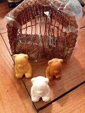 "New listing Vintage Avon Soap Set ""3 Bears� Original Box"