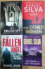 4 x Daniel Silva Books Paperback