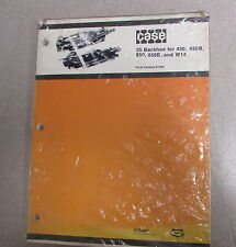 Case 35 Backhoe For 450 450B 850 850B W14 Parts Catalog Manual B1359