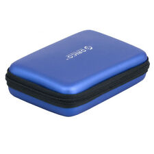 """Protection Case for Hard Disk Drive HDD 2.5"""" inch / Shell Enclosure Box Blue A"""