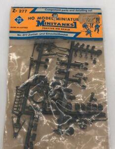 Roco Z-277 HO Minitanks Components and Detailing Set