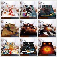3D NBA Sport Basketball Quilt Cover Bedding Set Boys Doona/Comforter Cover Set