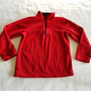 Sonoma Sweater Boys Size Large Red Pullover Long Sleeve