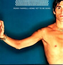 PERRY FARRELL - SONG YET TO BE SUNG - RARE 2001 PROMO CD SINGLE - CARD COVER