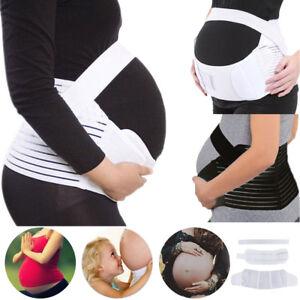 Pregnant Postpartum Maternity Belt Abdomen Back Brace Belly Band Girdle Support