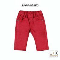 Pantalone a Tinta Unita Neonato Minibanda Q641