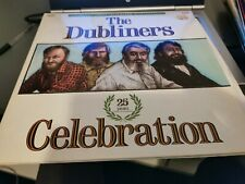 "THE DUBLINERS "" 25 years CELEBRATION "" DOUBLE LP(1987) feat THE POGUES"
