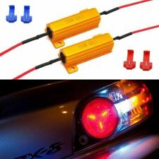 Load Resistors 6-Ohm Fix Turn Signal Light Hyper Flash Blink LED Bulbs Lamps