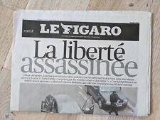 EO Journal Le Figaro, 8 janvier 2015 - n°21902 - TBE