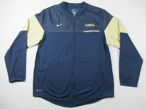 Nike Jacket Men's Navy Nylon Dri-Fit Used L