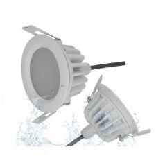 10pcs 5W LED Blanc Spot Encastrable Blanc Pur Plafonnier étanche IP65