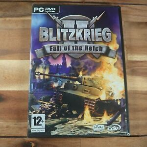 Blitzkrieg 2 - Fall Of The Reich PC Game Stand Alone Expansion New & Sealed Rare