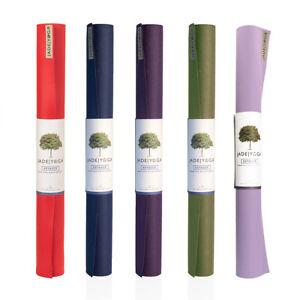 Yoga Mat Travel Jade Voyager Eco Rubber Fitness Non slip Lightweight Foldable