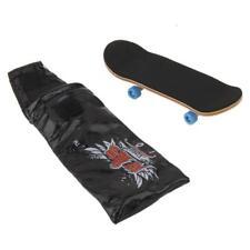 Mini Maple Wood Fingerboard Deck Finger Skate Board Kids Funny Gift Toys