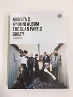 MONSTA X CLAN Mini 4th Album Innocent THE PART.2 Clan2.5 KPOP Sealed Cd