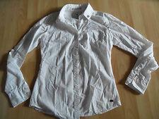 Maison scotch joli chemisier blanc M. affaires manches taille 1 produit NEUF 615