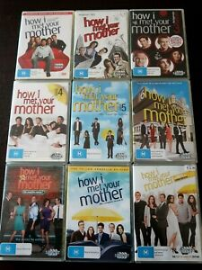 How I Met Your Mother Seasons 1-9 (27 Discs DVD Box Sets, Reg 4) Complete Show