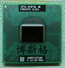 Intel Core 2 Duo P9600 SLGQS / 2.66 GHz / 6M / 1066 processor