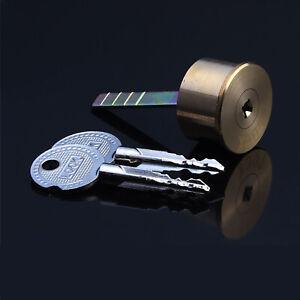 Replacement Rim Nightlatch Cylinder Door Lock Night Latch Copper Lock Core + Key