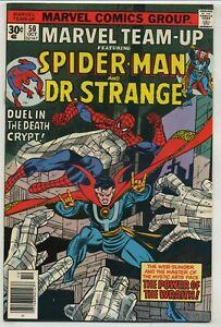 Marvel Team-Up 50 Dr. Strange High Grade