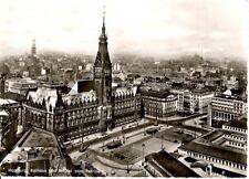 Hamburg - Rathaus und Innenstadt - 1962 gelaufen