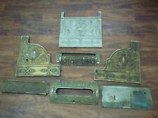 National Cash Register model 56 bohemian design cast iron steel parts shell NCR