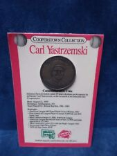 Carl Yastrzemski Cooperstown Collection Commemorative Coin Kahns/Hillshire Farm
