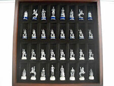 FRANKLIN MINT CIVIL WAR CHESS SET EXCELLENT EARLY EDITION VERY CLEAN