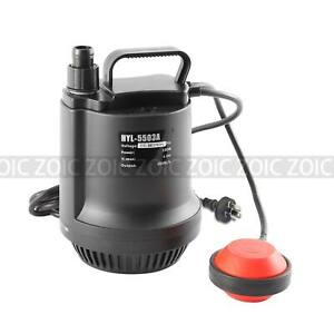 100W/200W Submersible Dirty Clean Sump Water Pump Garden Irrigation Bore Tank