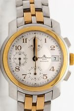 MV045217 18k Gold SS Baume & Mercier Mens Automatic CAPELAND Chronograph Watch