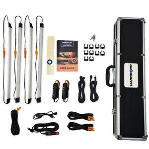 Hard Korr 4 Bar LED 3 Colour Camp Light Kit