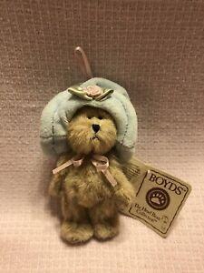 Boyds Bear Mini Plush Ornament ~ Goldie