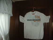 timberland t-shirt S/S white rugged bootmakers size large/tall Brand NEW