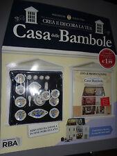 CREA E DECORA LA TUA CASA DELLE BAMBOLE N°1 SERVIZIO DA TAVOLA DVD PRESENTAZIONE