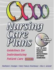 Nursing Care Plans: Guidelines for Individualizing Patient Care
