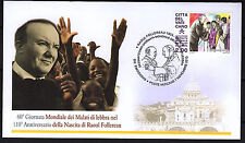 Vatikan 2013 FDC Nr.1789 Geburtstag von Raoul Follereau