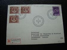 SUEDE - enveloppe 7/4/1960 (cy35) sweden