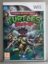 TEENAGE MUTANT NINJA TURTLES SMASH-UP - NINTENDO WII - PAL ESPAÑA - COMPLETO