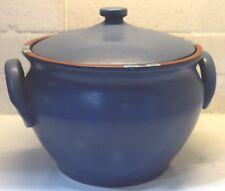 DANSK Mesa Blue Soup Tureen with Lid-Portugal