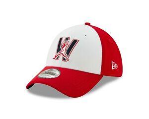 Washington Nationals Red/White Alt.4 New Era  Team Classic  39THIRTY Flex Hat
