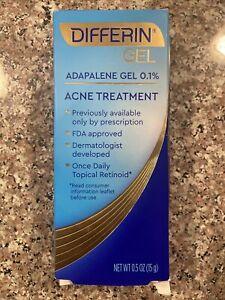 Differin Acne Treatment Acne Spot Treatment Face w/ Adapalene 15g 0.5 Ounce