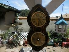 Vintage Bulova Clock & Barometer with Pepsi Logo Made in England