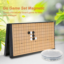 Go Board Game Magnetic Portable Folding Strategy Board Game Weiqi Educational