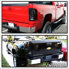 Black Smoke 2007-2013 Chevy Silverado 1500 Lumileds LED Tail Lights Brake Lamps
